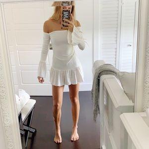 Alexis white dress
